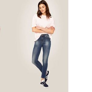 Lole Sz 25 high Rise Skinny Ankle Jeans